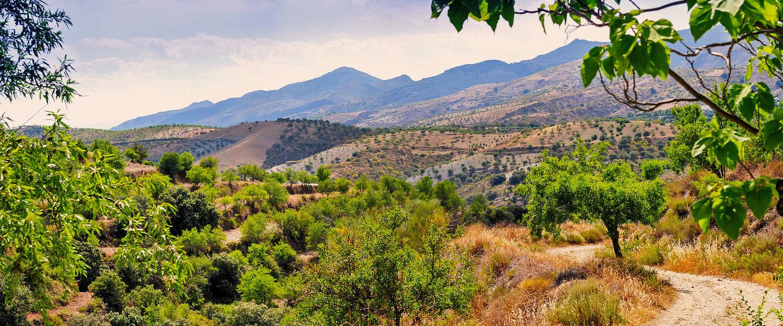 El paisaje de la Alpujarra