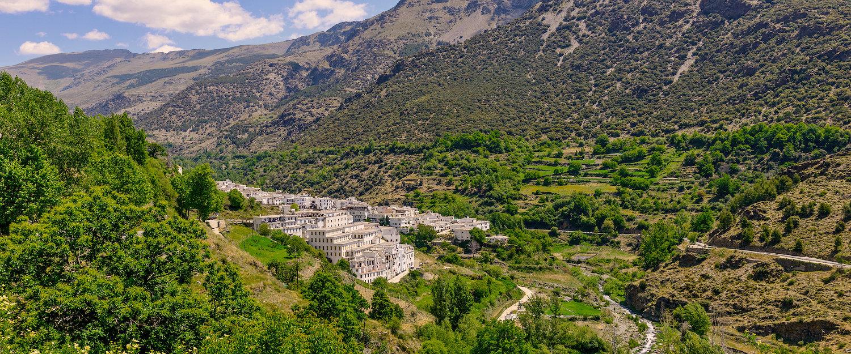 Vista del valle y de Trevélez