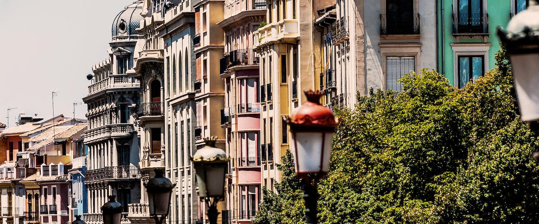La calle Recogidas en Granada