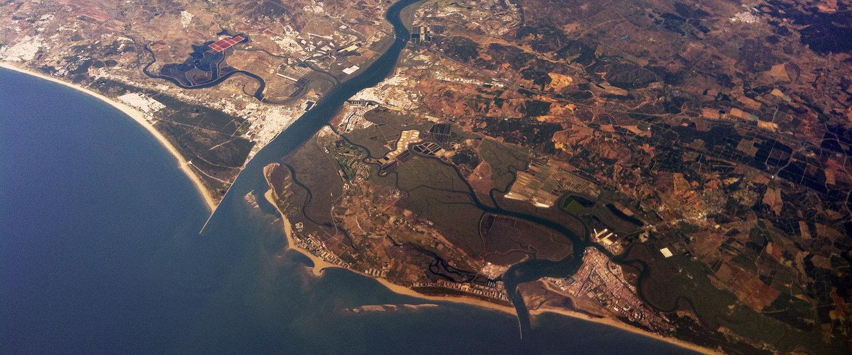 Vista aerea de Ayamonte