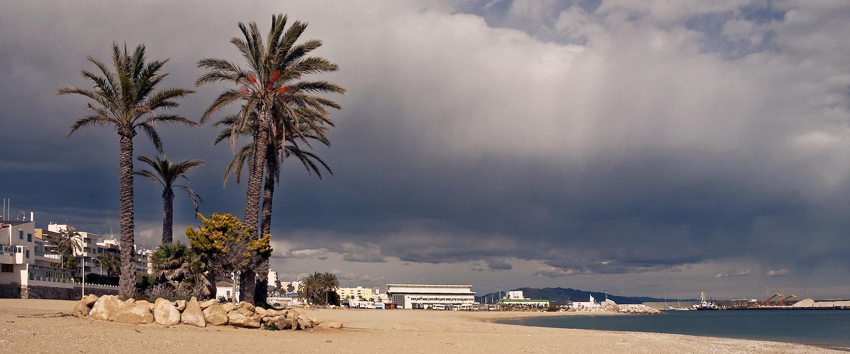 La playa de Garrucha
