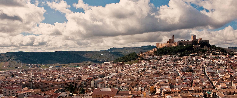 Vista panorámica de Alcalá la Real