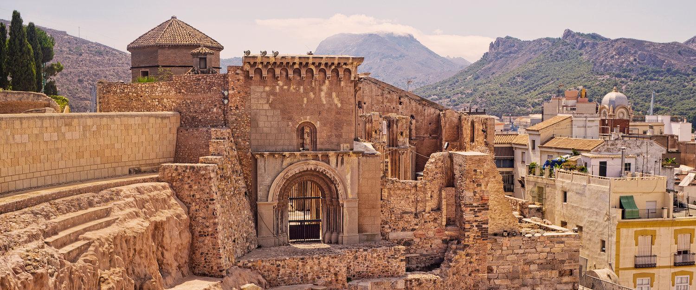 Restos romanos de Cartagena