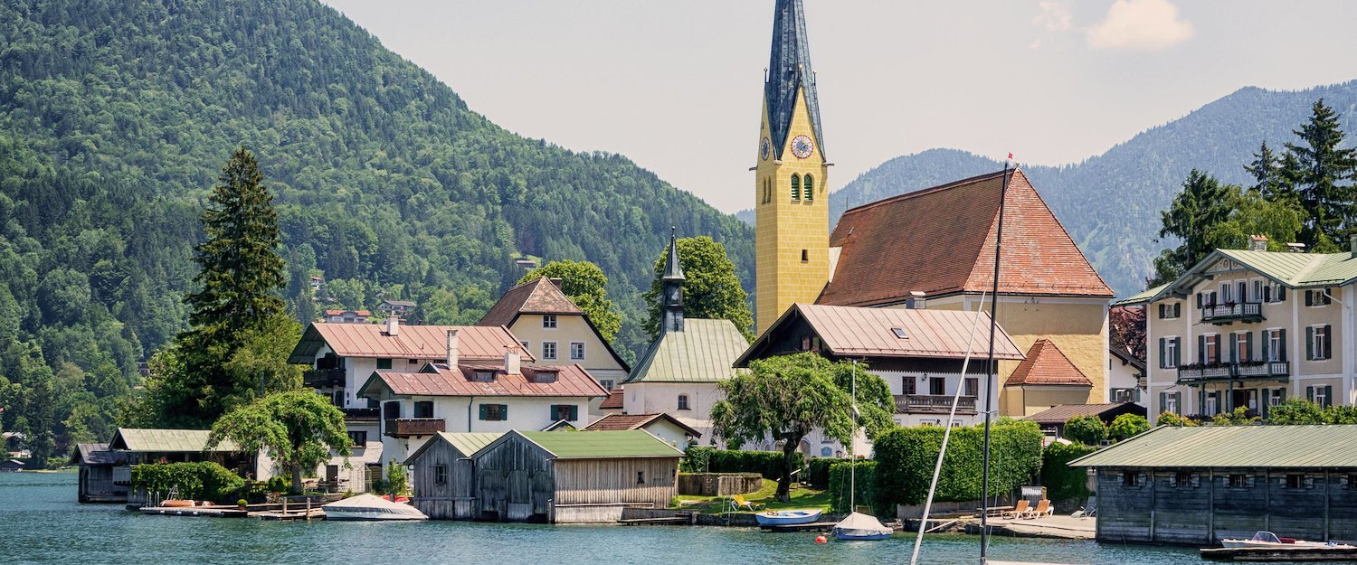 Visit one of the lakes in Upper Bavaria