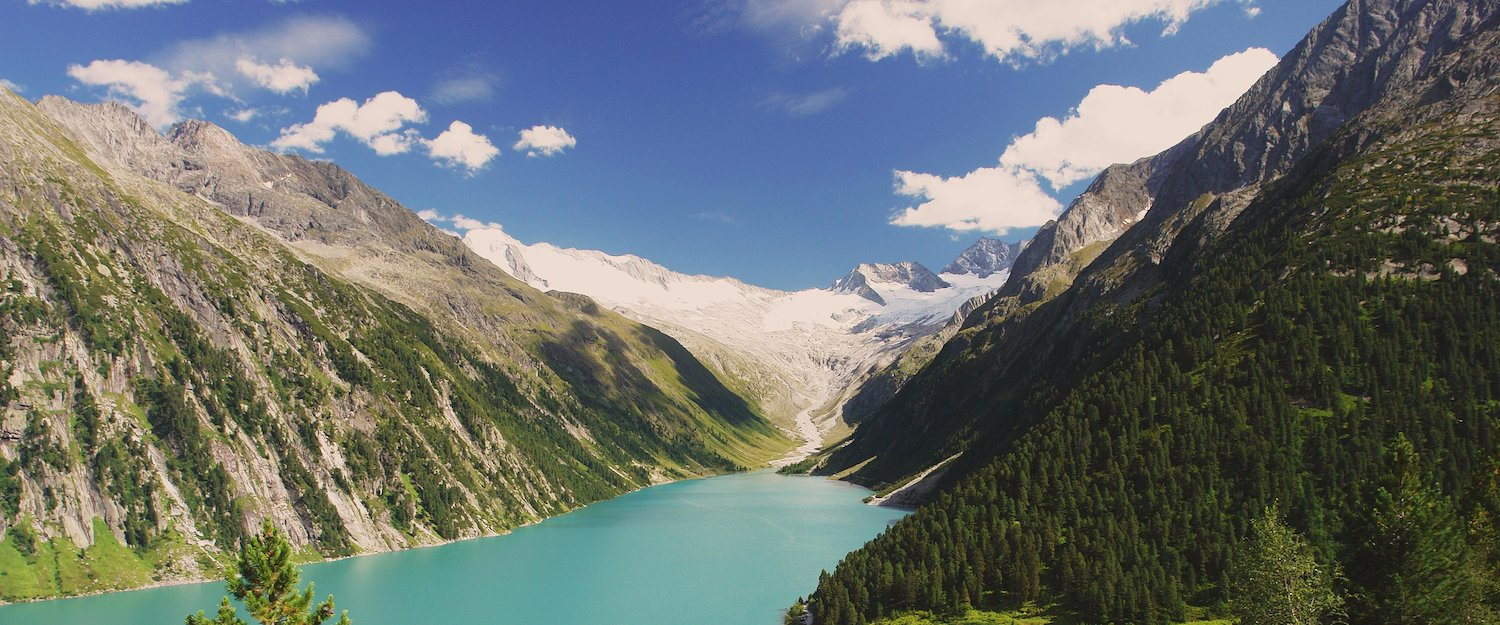 Incredible landscape in the Zillertal (Tyrol)