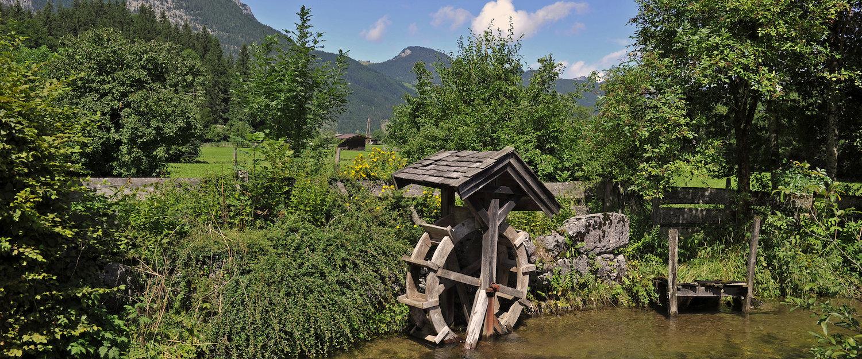 Wassermühle in Lofer