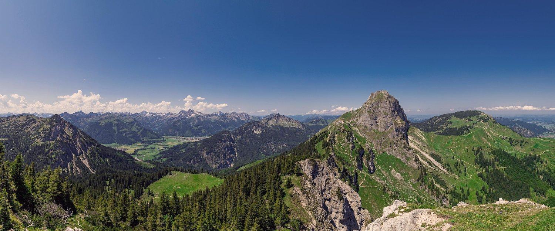 Der Berg Aggenstein in der Nähe von Pfronten