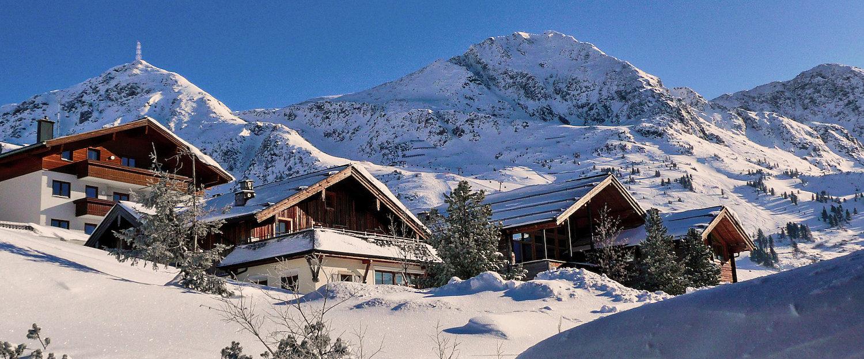 Winterwonderland rond Kössen