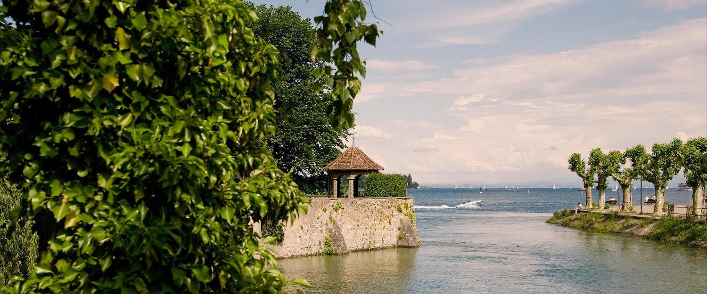 Seeblick in Konstanz