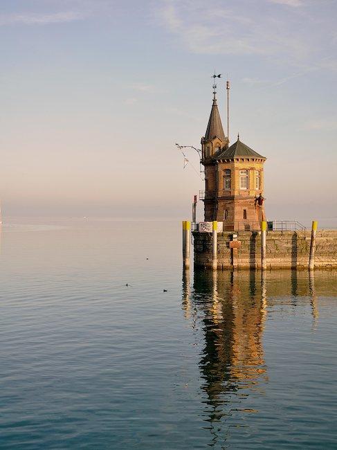 Hafeneinfahrt in Konstanz