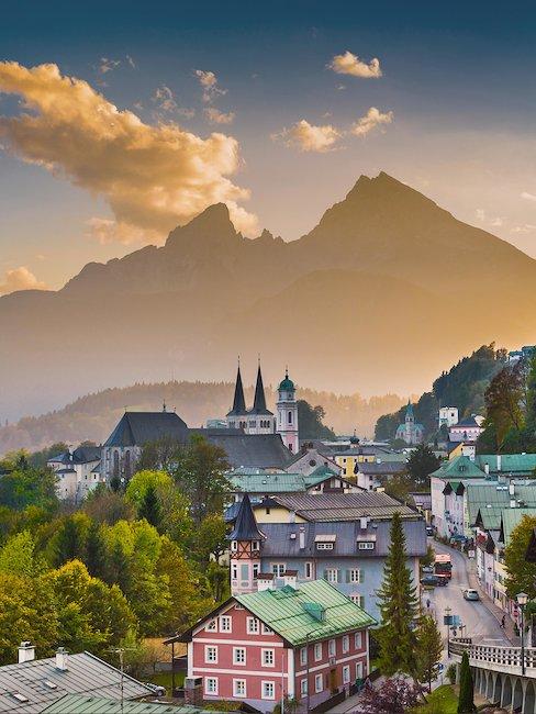 De naburige stad Berchtesgaden