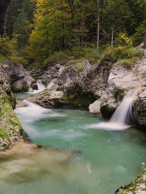 Der Wasserfall stellt ein beliebtest Ausflugsziel dar