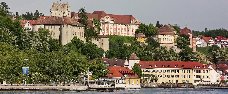 View of Meersburg on Lake Constance