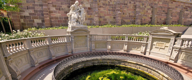 Quelle der Donaubach in Donaueschingen