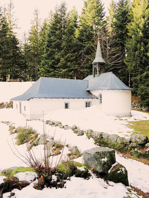 Une église près de La Bresse