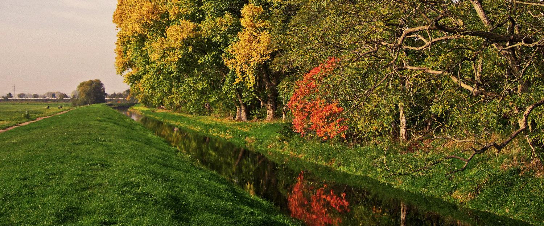 Schöne Herbstlandschaft in der Schwäbischen Alb
