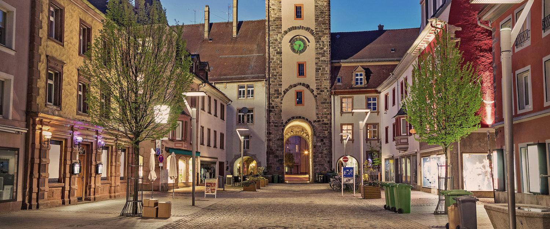 Riettor in de oude binnenstad van Villingen-Schwenningen