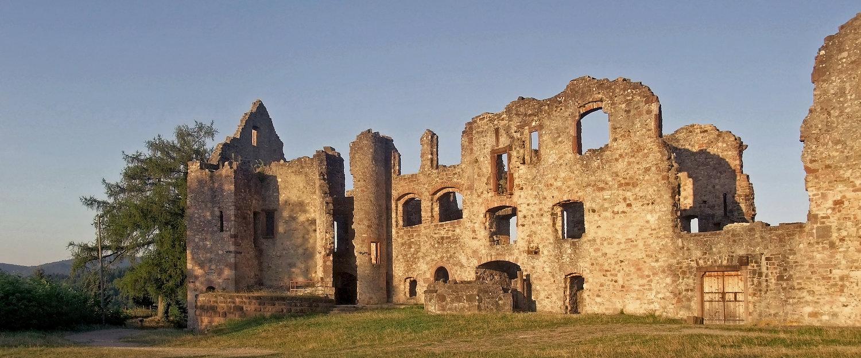 Burg Hachberg zwischen Emmendingen und Sexau