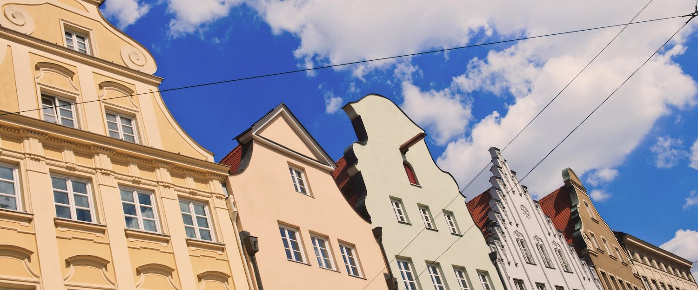 Die Augsburger Innenstadt.