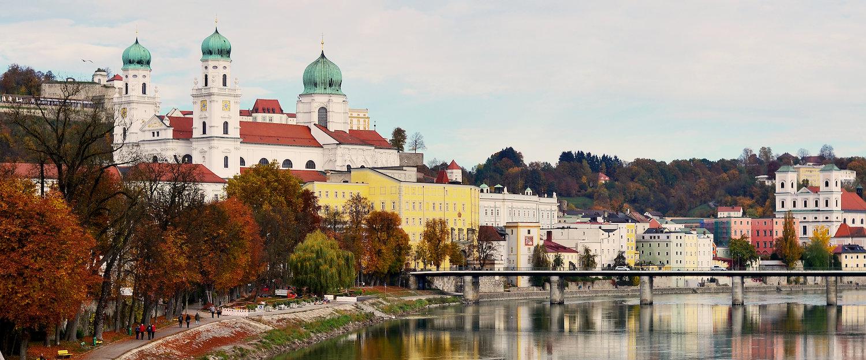 Blick auf den Passauer Dom