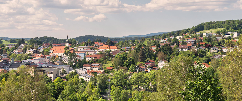 Bergdorf in Niederbayern