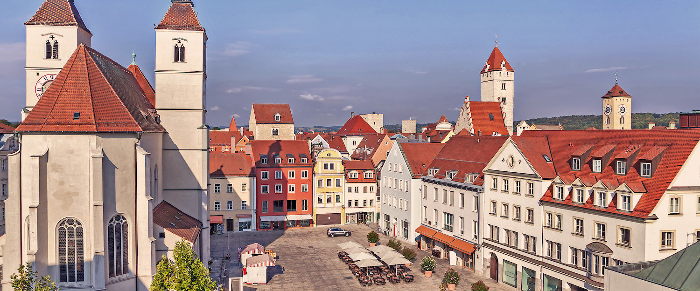 St. Kassians Square in Regensburg