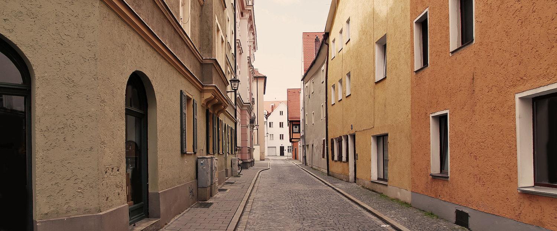 Oude binnenstad van Deggendorf