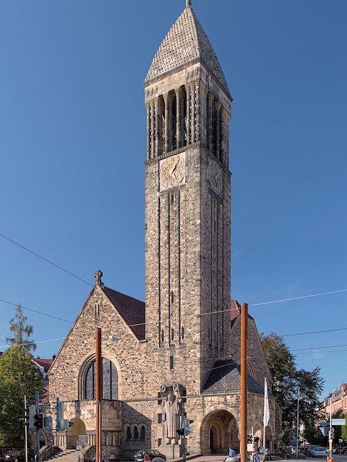 Lutherkerk in Karlsruhe