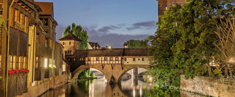 Die Henkersbrücke in Nürnberg