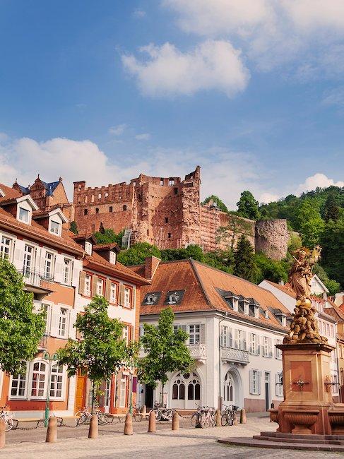 Kornmarktplatz w Heidelbergu