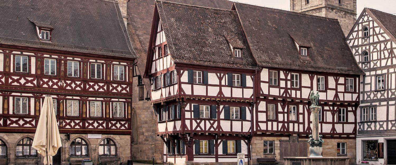 Die idyllische Altstadt von Forchheim