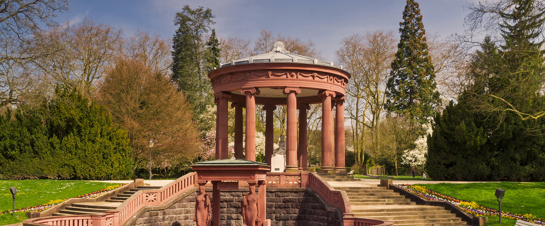 Tempel im Park von Bad Homburg