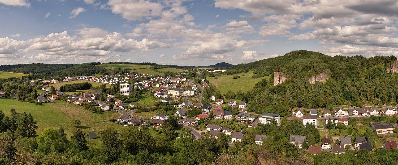Dorf im Rheinland-Pfälzer Land