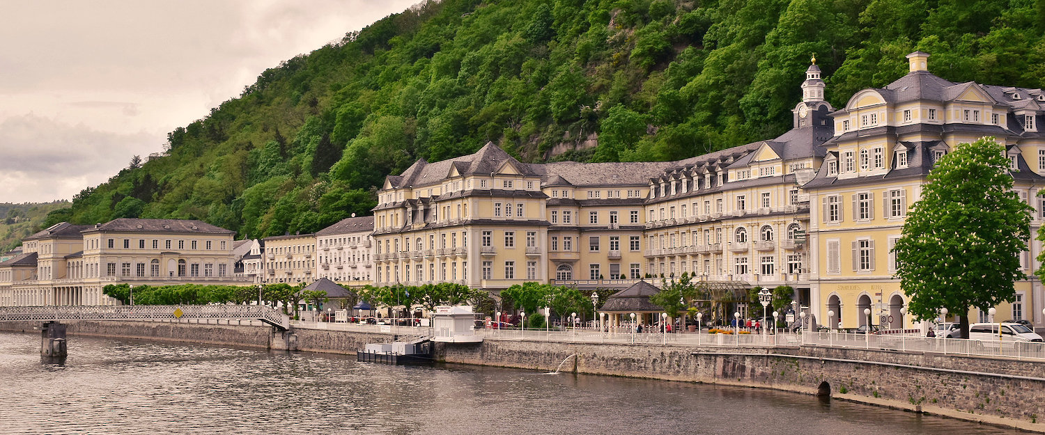 Lahnufer in Bad Ems