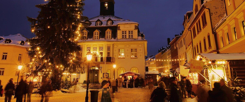 Der Weihnachtsmarkt in Schwarzenberg