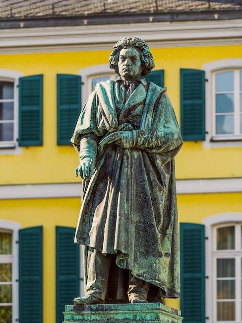 Die Beethoven Skulptur in Bonn