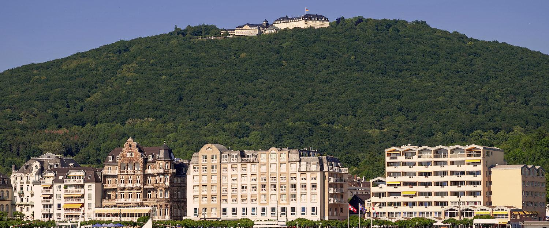 Die besten Hotels am Rheinufer in Königswinter