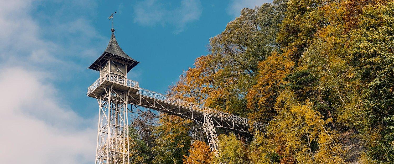 Historische lift in Bad Schandau