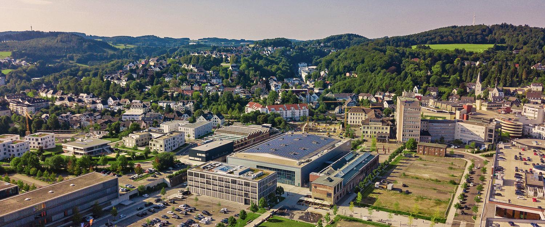 Uitzicht over Gummersbach