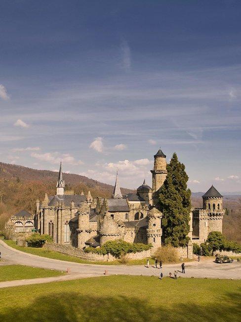 Das Lustschloss Löwenburg
