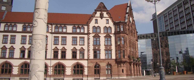 Stadtzentrum von Dortmund