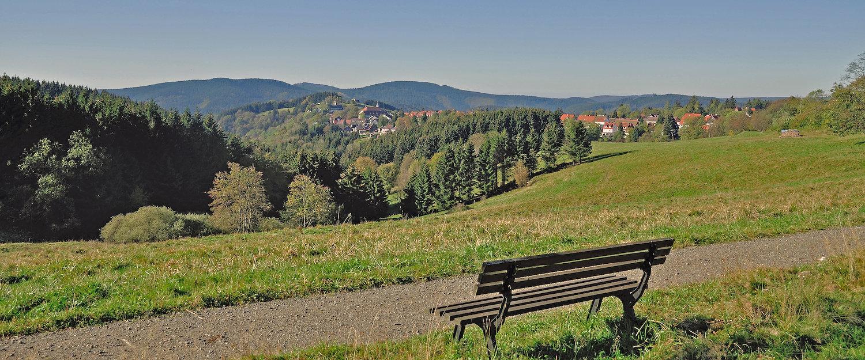Idyllische Landschaft um Blankenburg