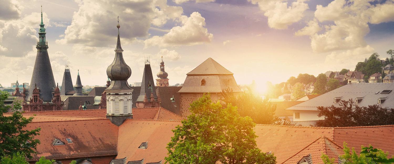 Traumhafter Ausblick über Blankenburg