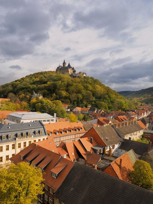 Wernigeroder oude binnenstad