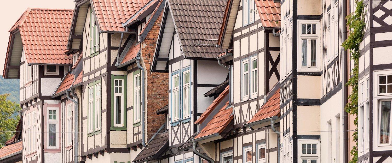 Historische vakwerkhuizen in Wernigerode