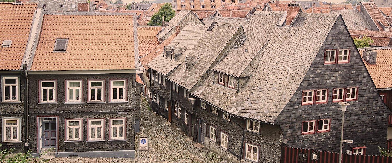 Alte Häuser in Goslar