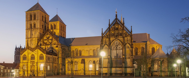 Die St.Pauls Kathedrale in Münster