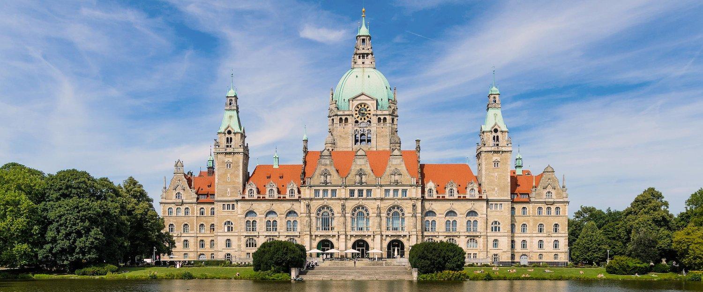 Het stadhuis van Hannover