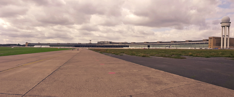 Besichtigen Sie den alten Flughafen Berlins!