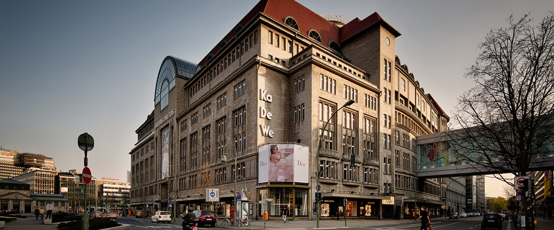 KaDeWe Kaufhaus in Berlin Schöneberg